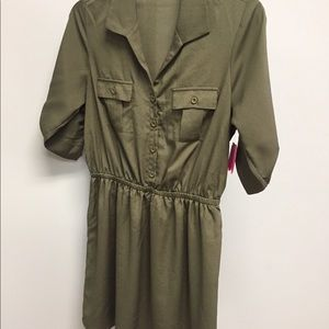 Bebop Olive Green Dress Size Medium